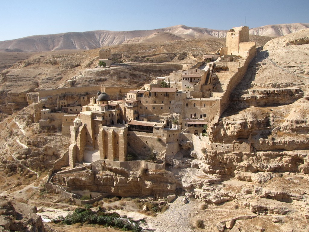 Монастырь Саввы Освященного Израиль