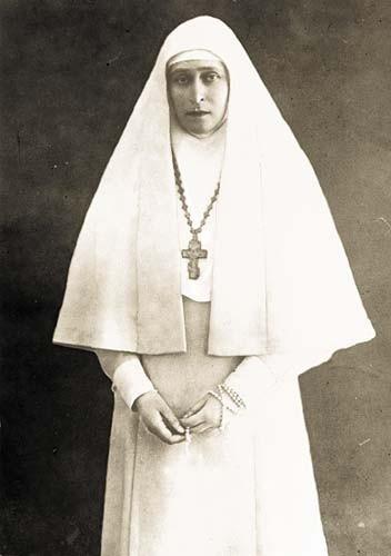 Елизавета Федоровна сестра милосердия