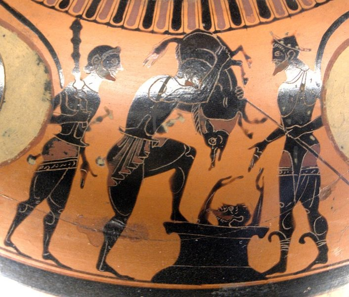 a comparison theseus and hercules Looking at the hunger games a comparison english literature essay print between the greek myth theseus and comparison is when katliss volunteers to go.